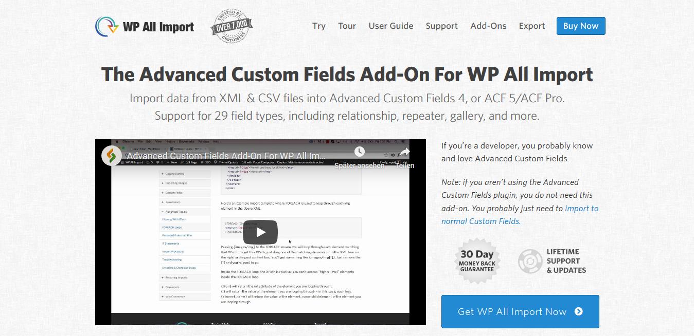 WP All Import Pro Advanced Custom Fields Add-On 3.3.2