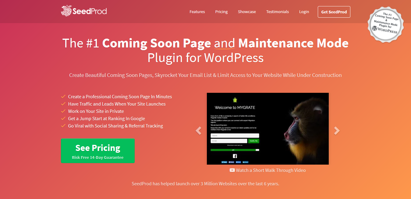 SeedProd Coming Soon Pro 6.0.11.1 – Best WordPress Coming Soon Page Plugin