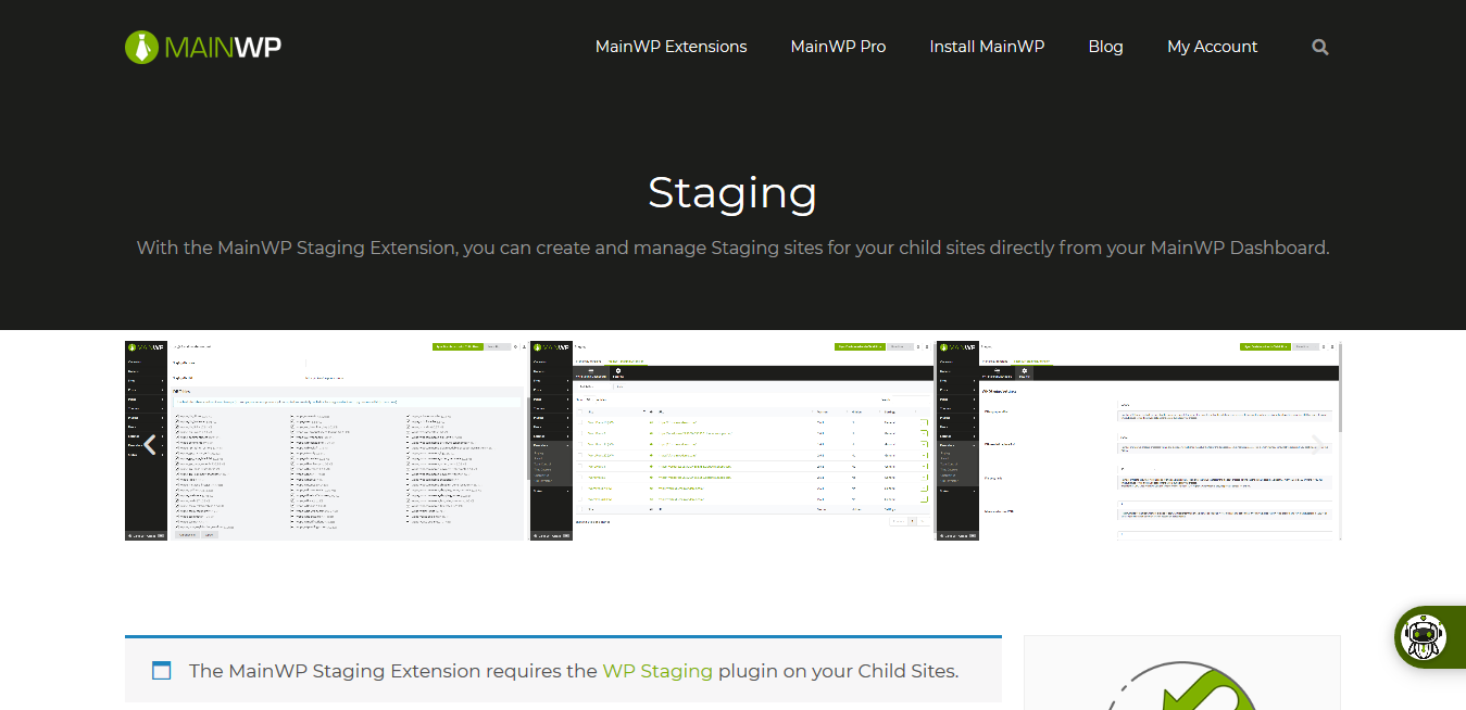 Staging 4.0.1 – MainWP WordPress Management