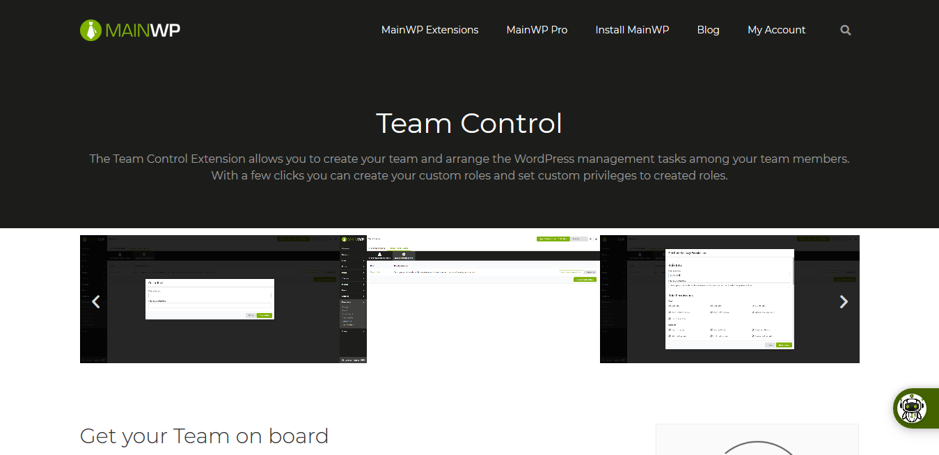 Team Control 4.0.1.1 – MainWP WordPress Management