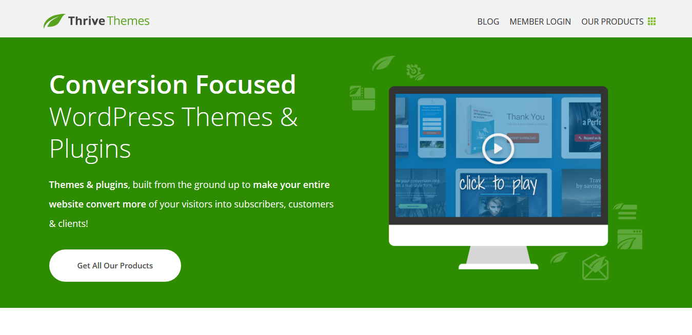 All 10 Thrive Themes 1.500 – Conversion Focused WordPress Themes