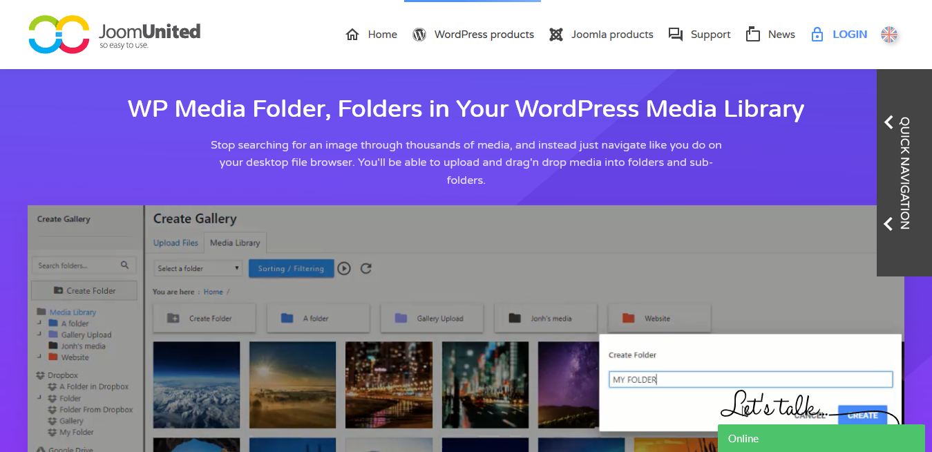 JoomUnited  WP Media Folder 5.3.15 with all Addons – Folders in Your WordPress Media Library