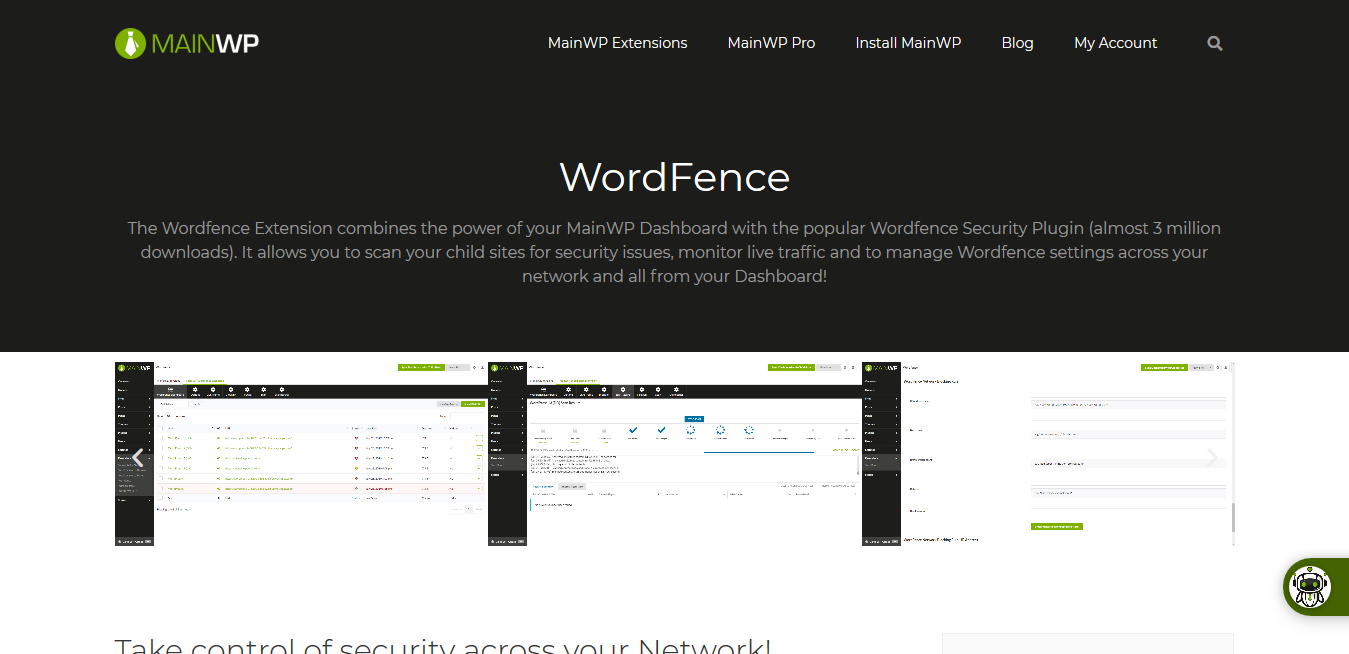WordFence 4.0.2 – MainWP WordPress Management