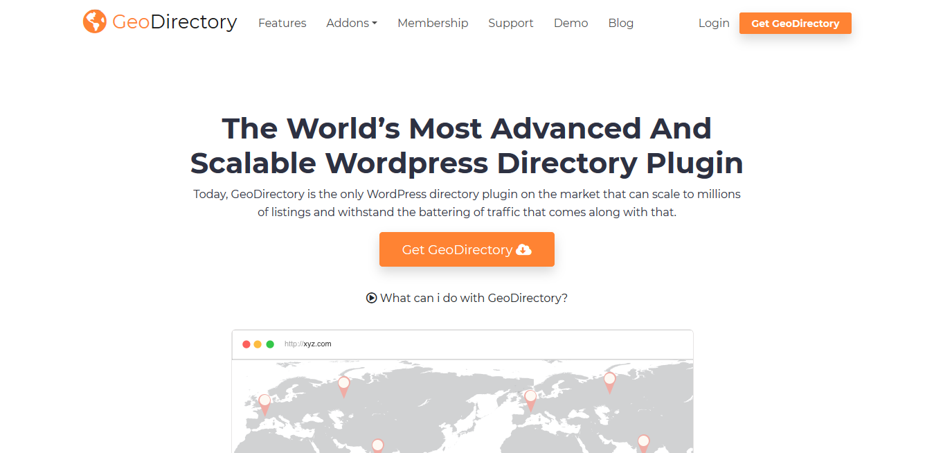 GeoDirectory 2.0.0.101 (+ All 21 Premium Addons) – WordPress Directory Plugin