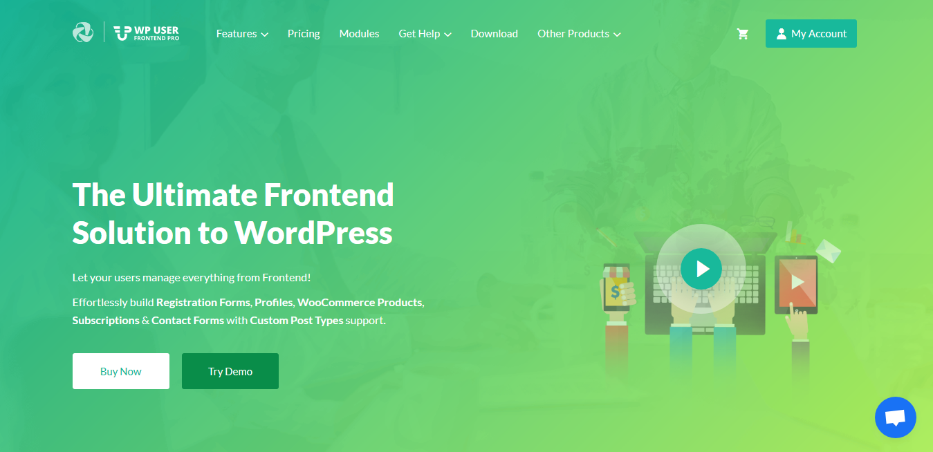 WP User Frontend Pro Business 3.4.6 – Ultimate Frontend Solution to WordPress