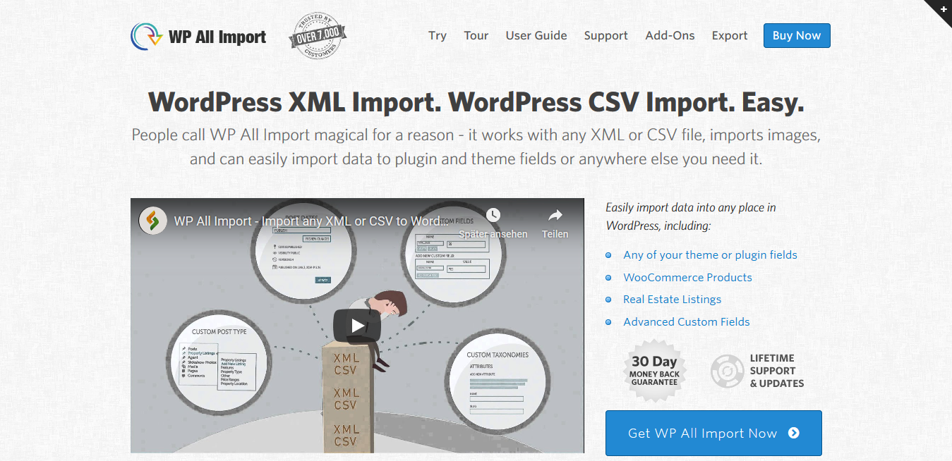 WP All Import Elite Bundle (+All Export and 4 Addons)