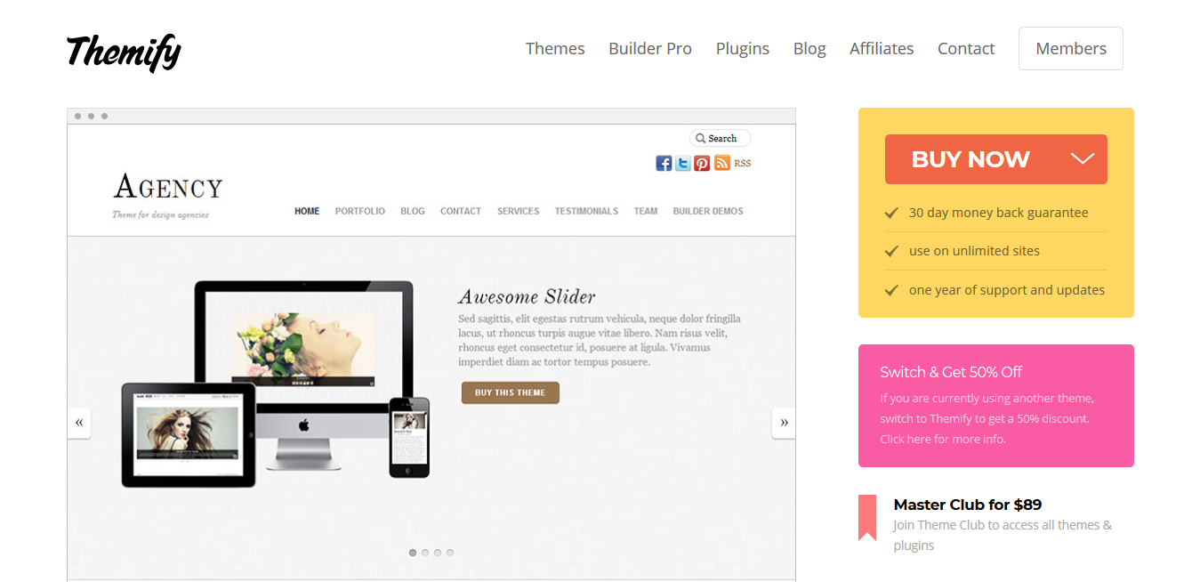Themify Agency WordPress Theme 5.2.0