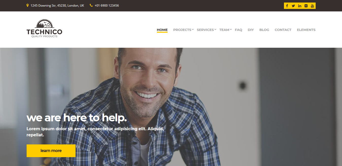 CSS Igniter Technico WordPress Theme 2.1.0