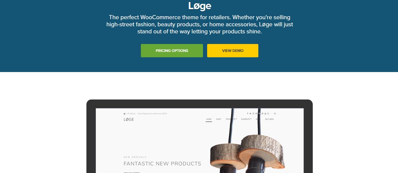 CSS Igniter Loge WooCommerce Theme 1.8.1