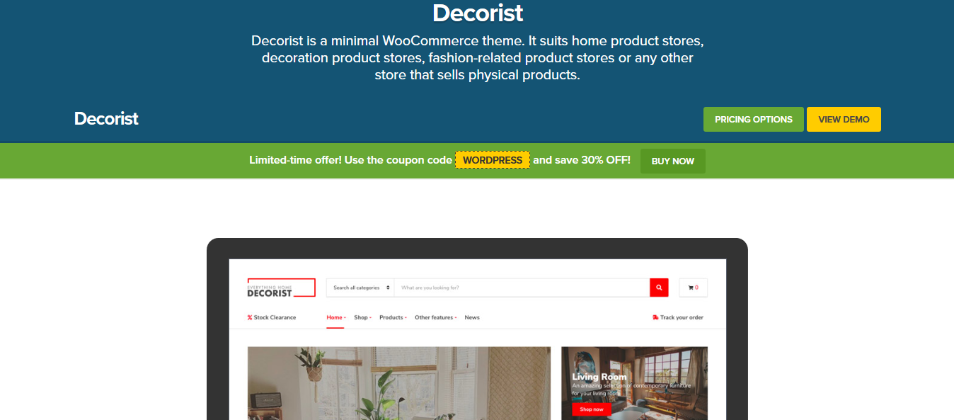 CSS Igniter Decorist WooCommerce Theme 1.8.1