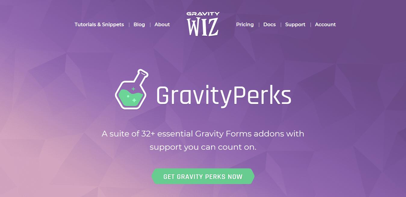 Gravity Perks 2.2.7 + 32 Addons