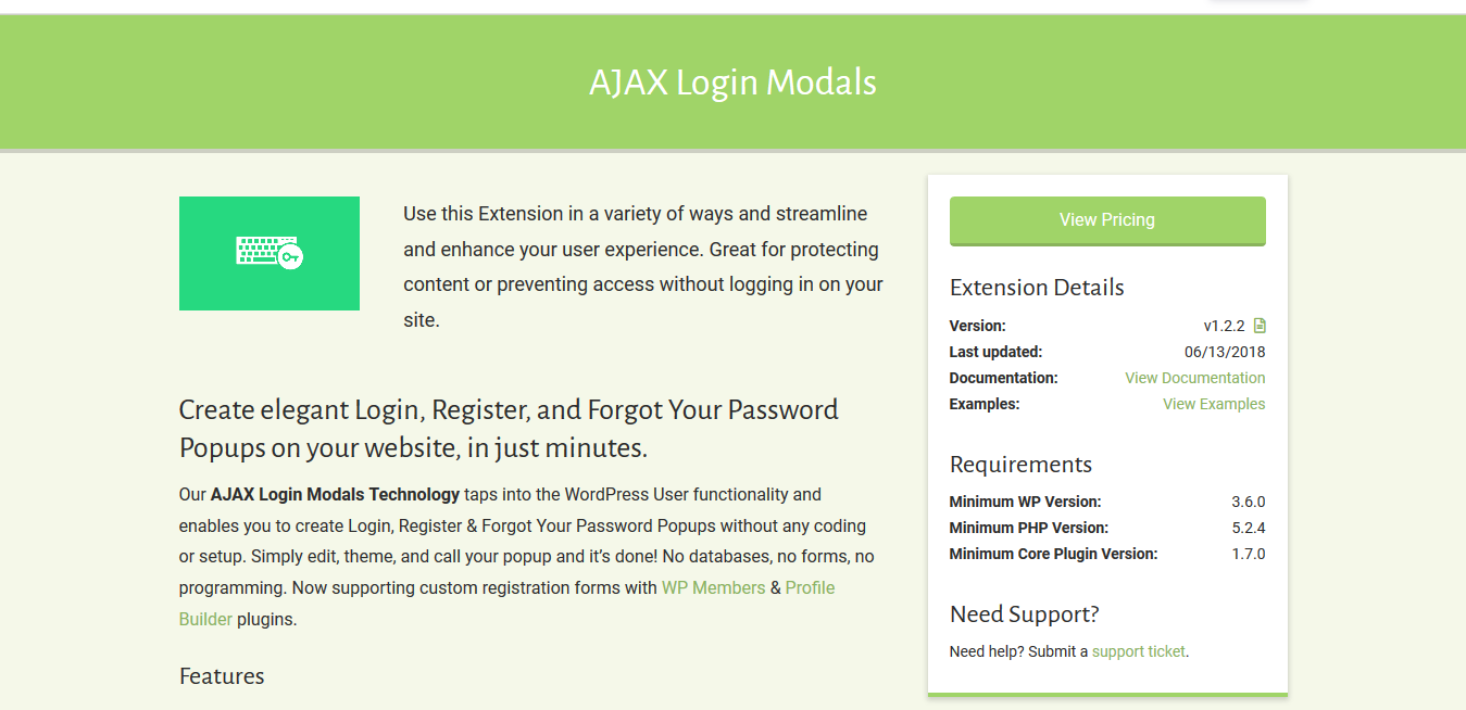 Popup Maker – AJAX Login Modals 1.2.2