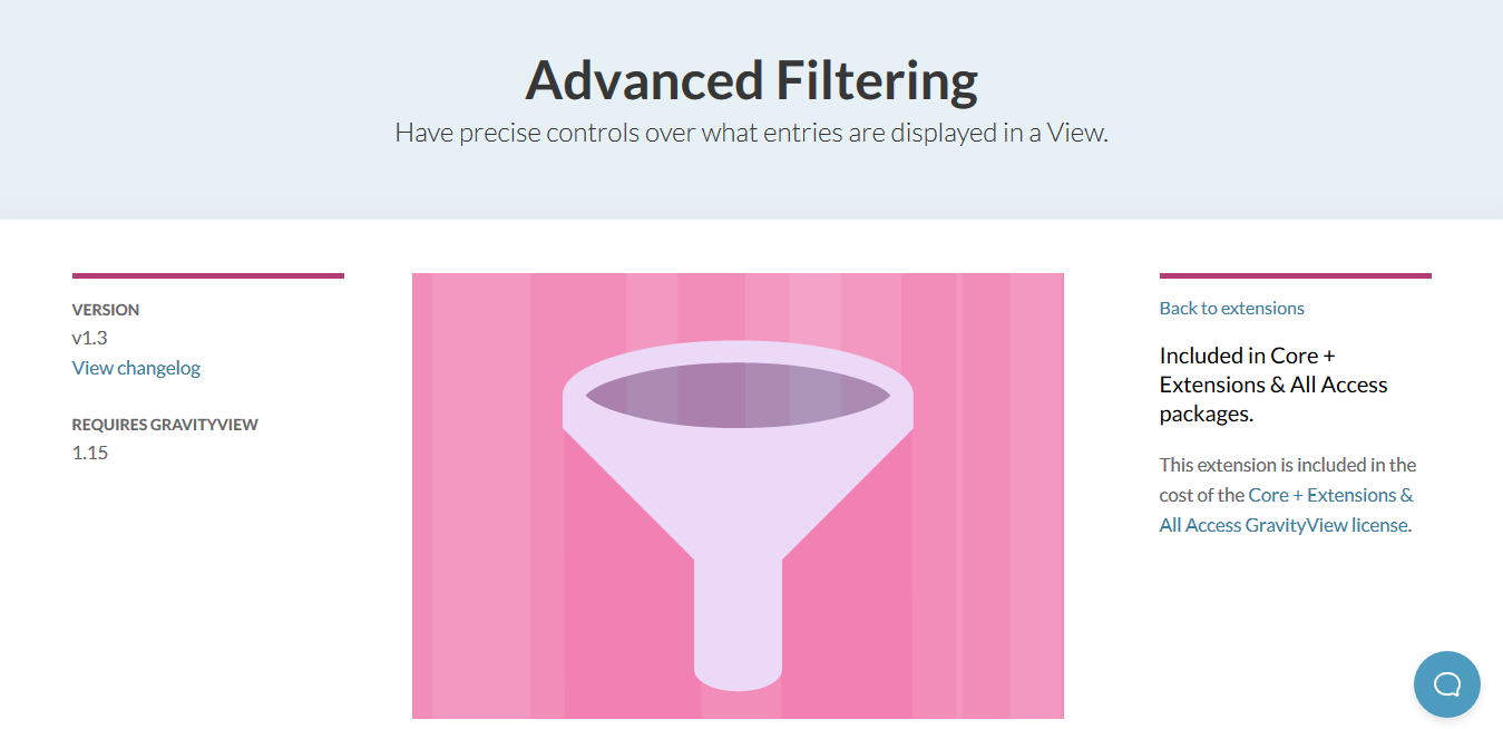 GravityView – Advanced Filter Extension 2.1.7