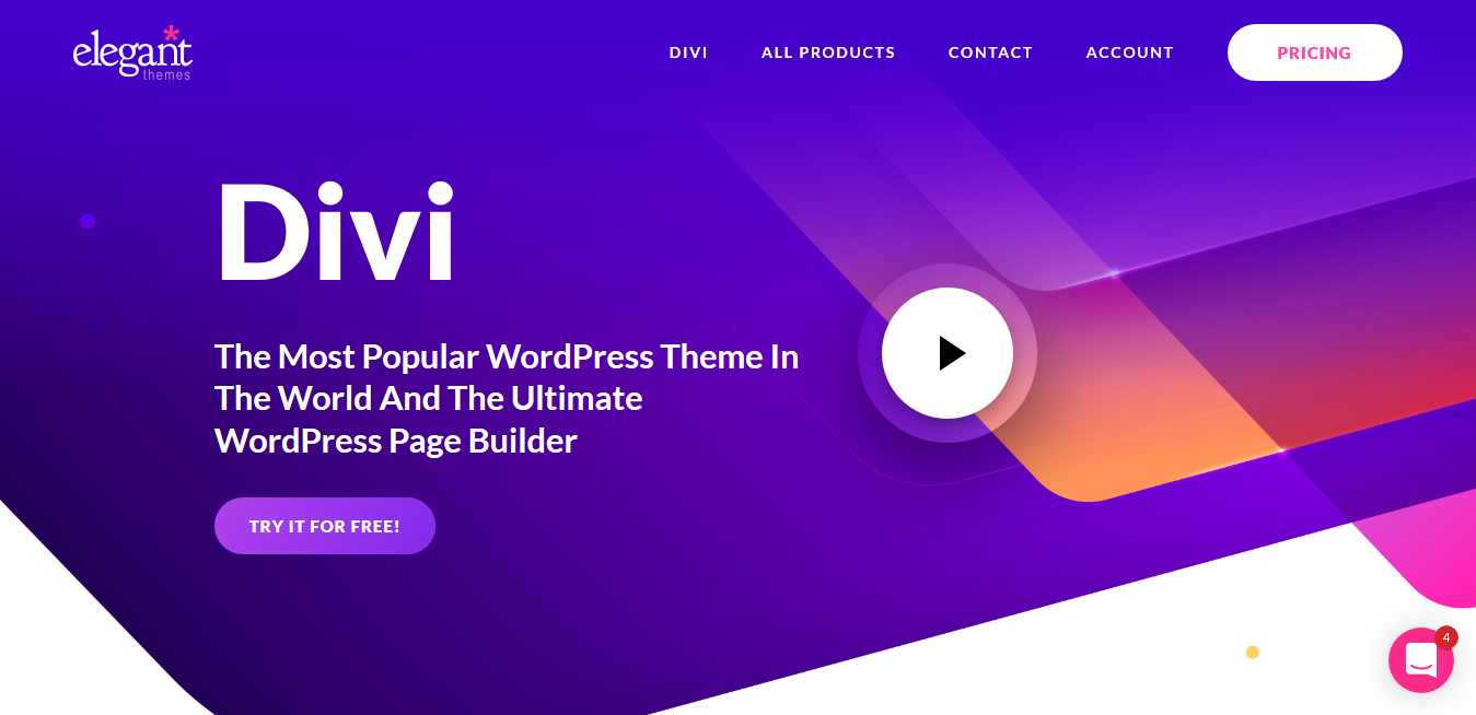 Divi Page Builder 4.9.10 with License Key — The Ultimate WordPress Page Builder