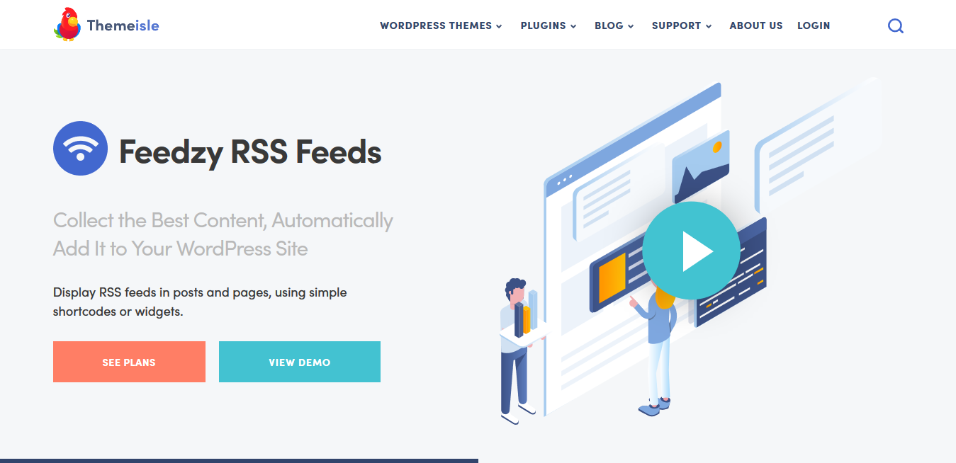 ThemeIsle FEEDZY RSS Feeds Premium 1.7.2 – #1 WordPress RSS Feed Plugin