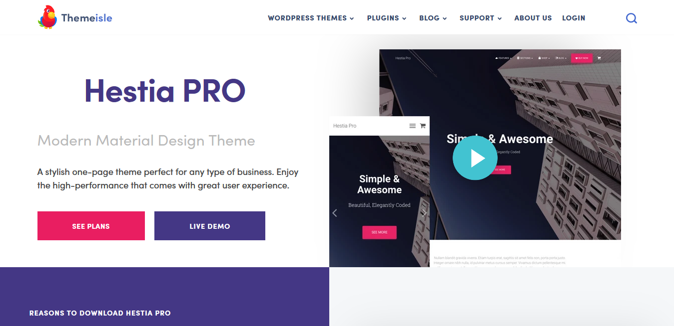 ThemeIsle Hestia PRO 3.0.8 – #1 Multi-Purpose WordPress Theme