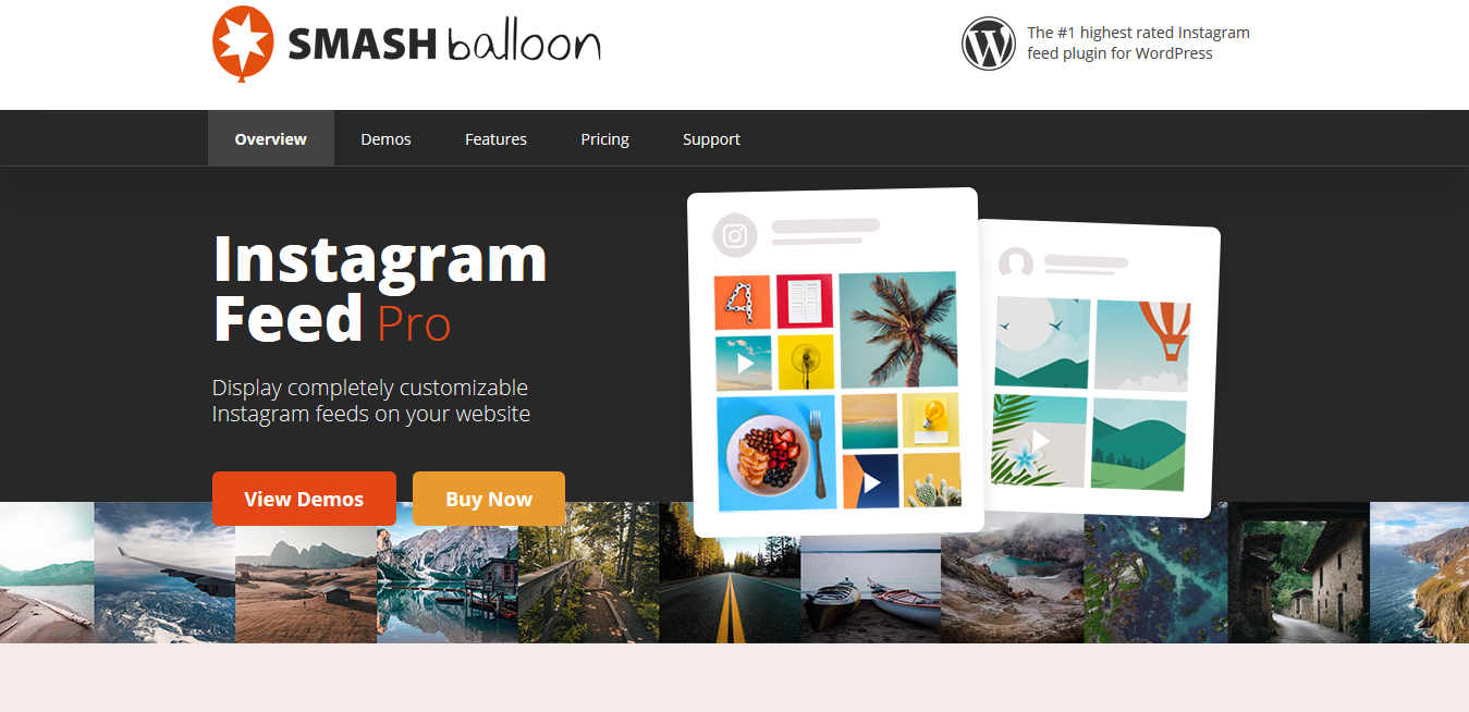 Instagram Feed WordPress Plugin 5.6.2 – Smash Balloon