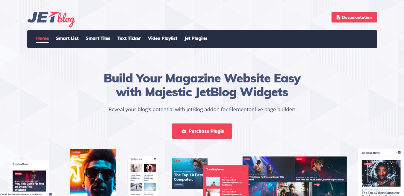 Crocoblocks JetBlog 2.2.12 – Blogging Package for Elementor Page Builder