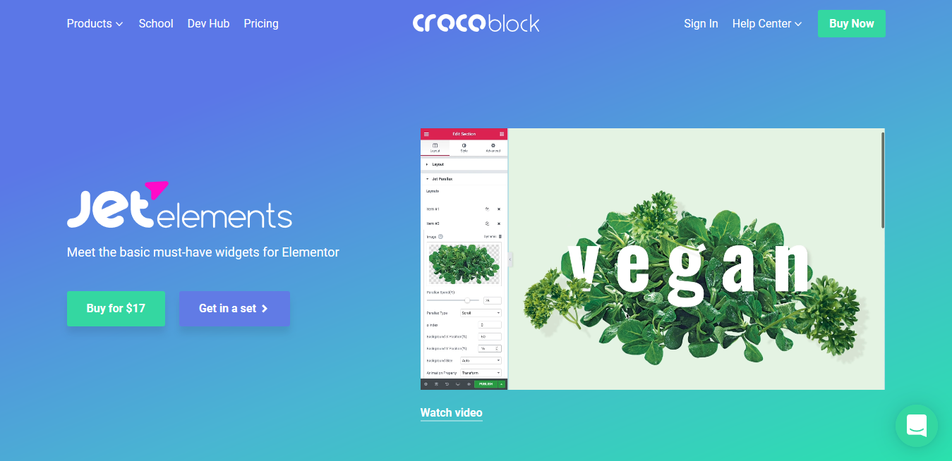 Crocoblock JetElements Plugin 2.5.6 – 42 Widgets for Elementor