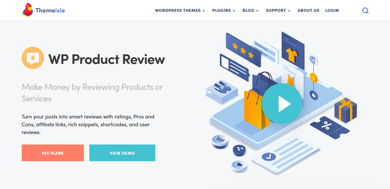 WP Product Review WordPress Plugin by ThemeIsle 2.6.1