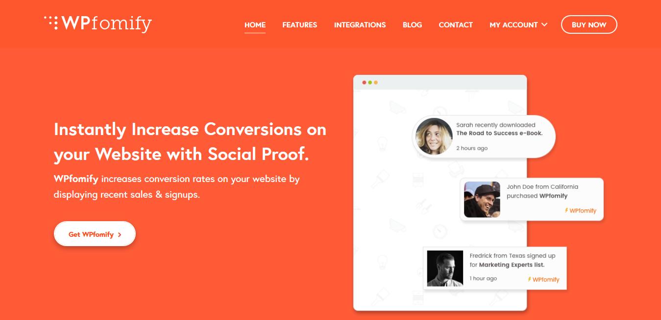 WPfomify 2.2.3 – Social Proof and FOMO Marketing Plugin for WordPress