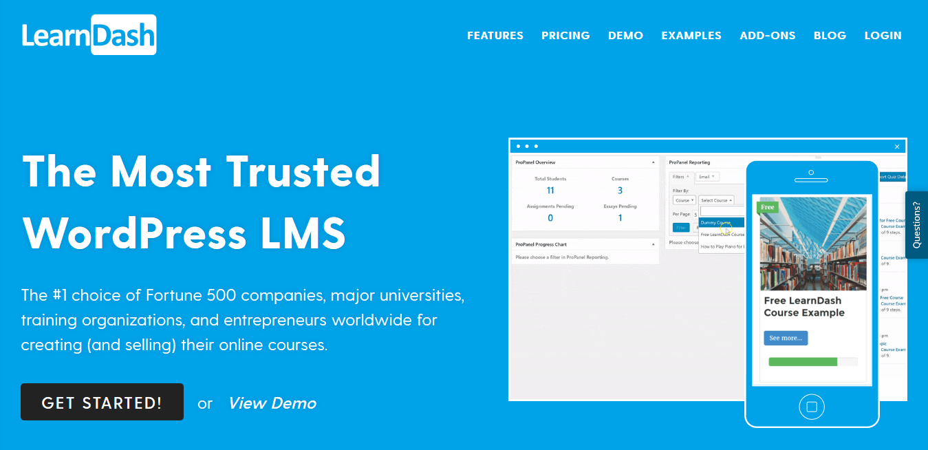 WordPress LMS Plugin by LearnDash 3.4.0.2 – Best Learn Management System Plugin