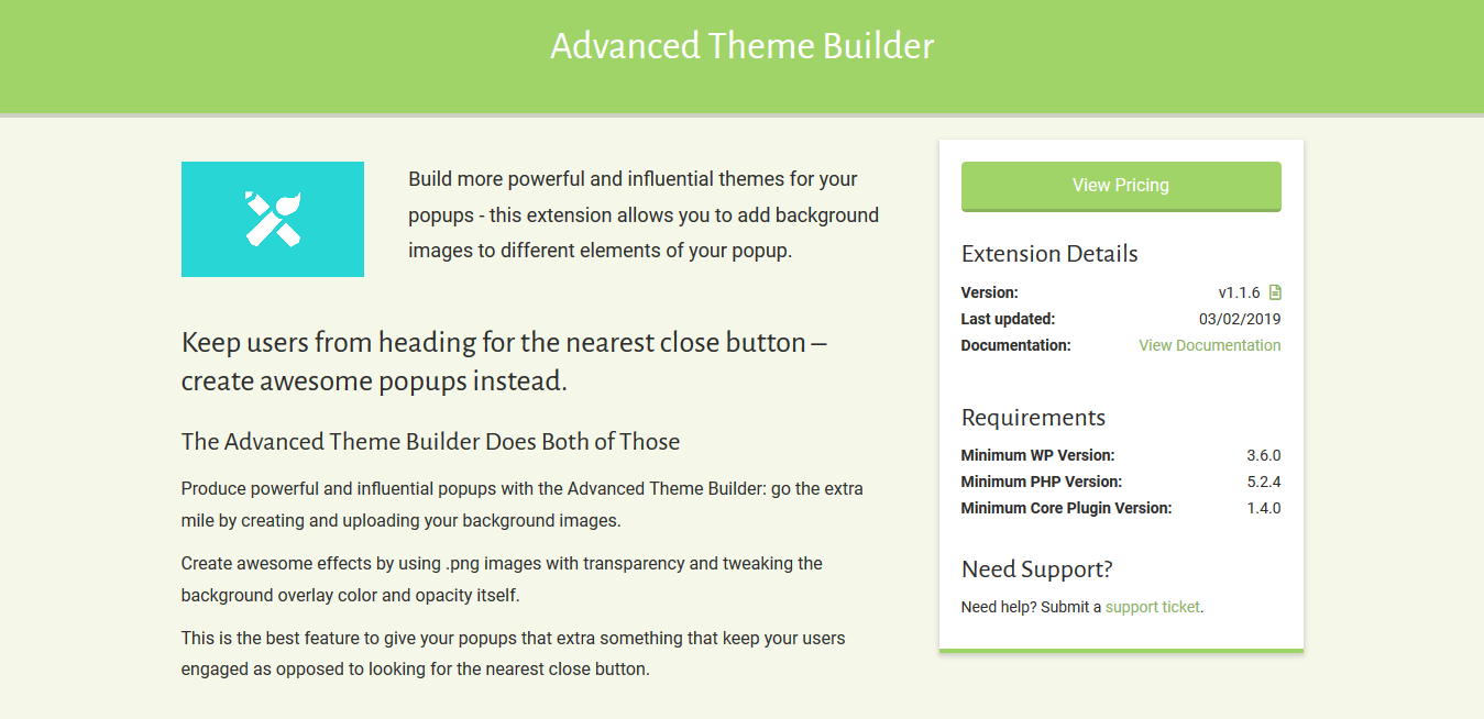 Popup Maker – Advanced Theme Builder 1.1.6