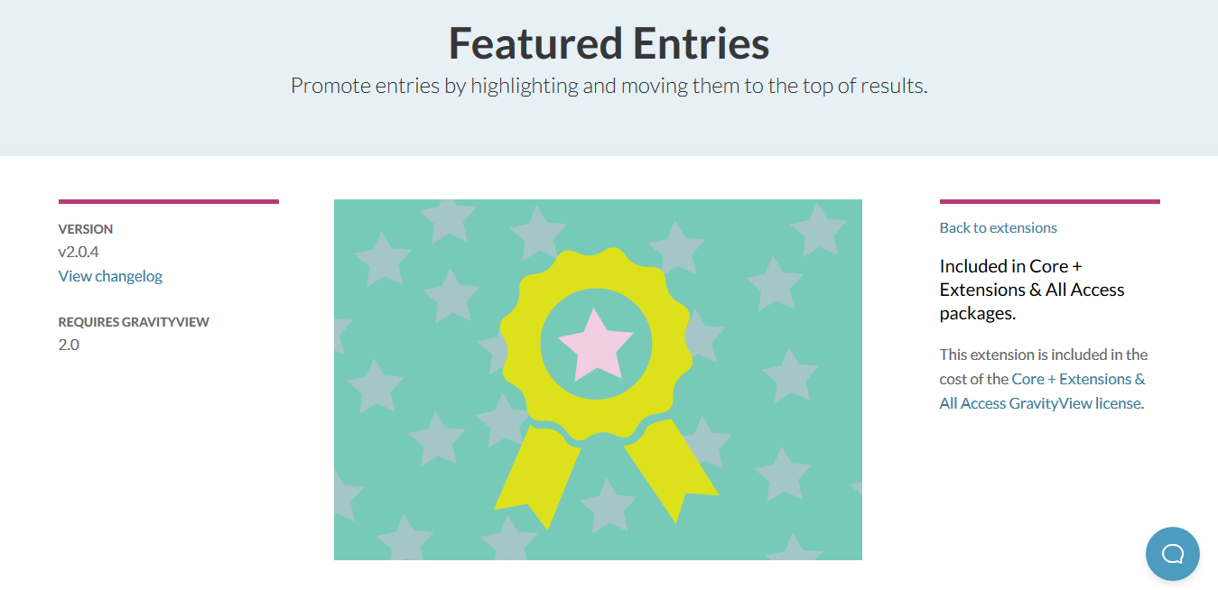 GravityView – Featured Entries Extension 2.0.6