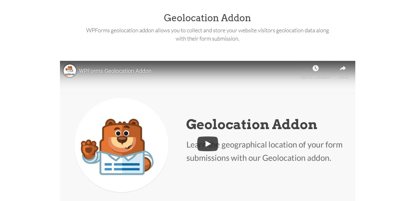 WPForms – Geolocation 1.2.0