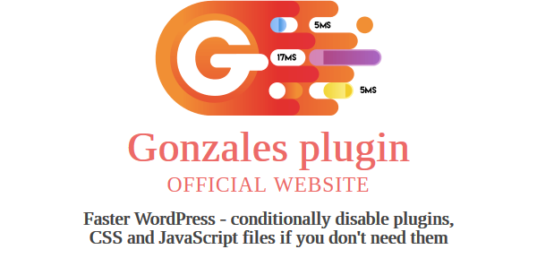 Gonzales WordPress Plugin 2.2 – Faster WordPress
