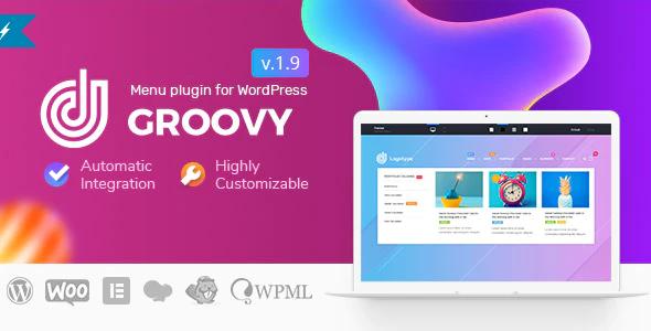 Groovy Mega Menu 2.4.8 – Responsive Mega Menu Plugin for WordPress