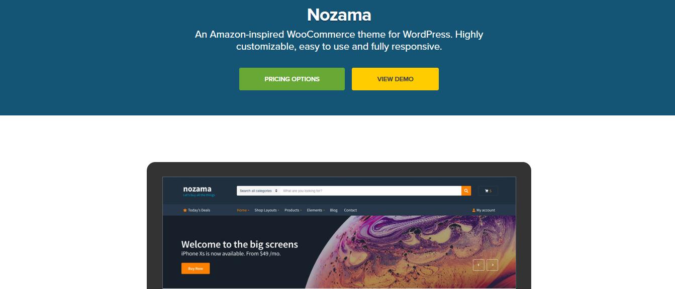 CSS Igniter Nozama WooCommerce Theme 1.9.1