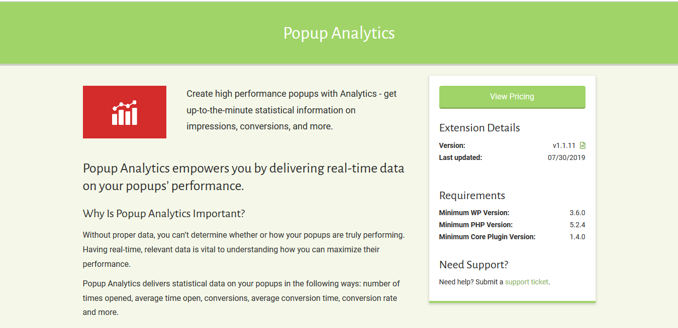 Popup Maker – Popup Analytics 1.1.11