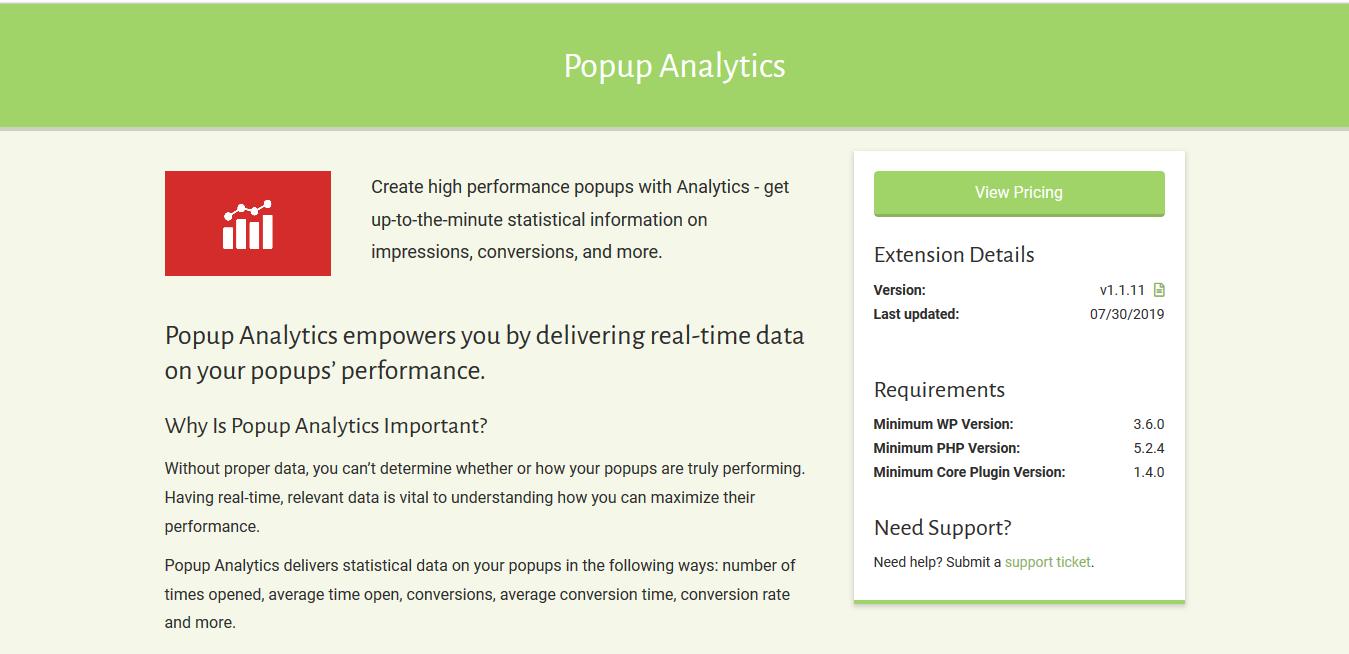 Popup Maker – Popup Analytics 1.1.11
