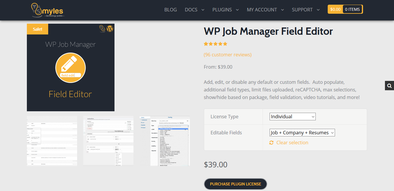 WP Job Manager Field Editor Addon 1.9.2