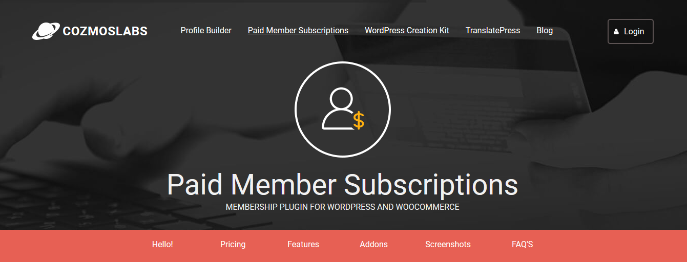 Paid Member Subscriptions 1.9.9 – Membership Plugin for WordPress and WooCommerce + Addons