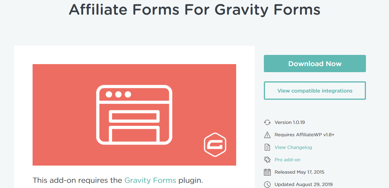 AffiliateWP – Affiliate Forms For Gravity Forms 1.0.21