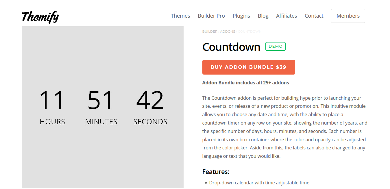 Themify Builder Countdown 2.0.1
