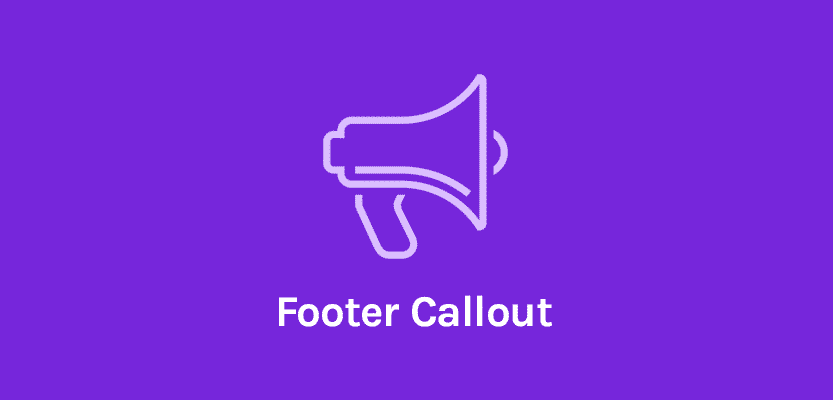 OceanWP Footer Callout 1.0.14