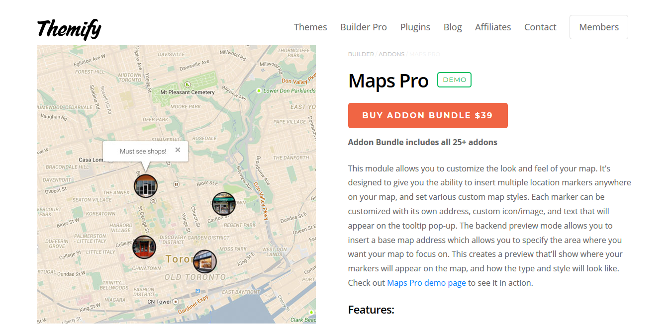 Themify Builder Maps Pro 2.0.1
