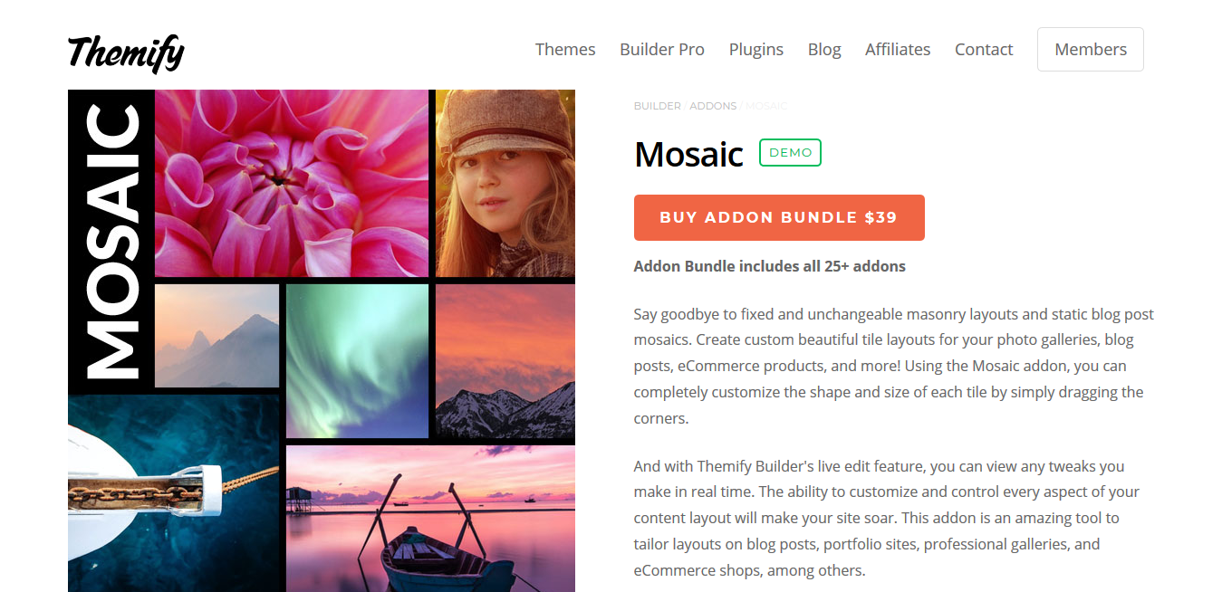 Themify Builder Mosaic 2.0.0