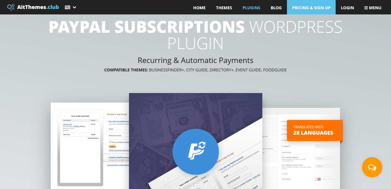 AIT PayPal Subscriptions 2.0.2