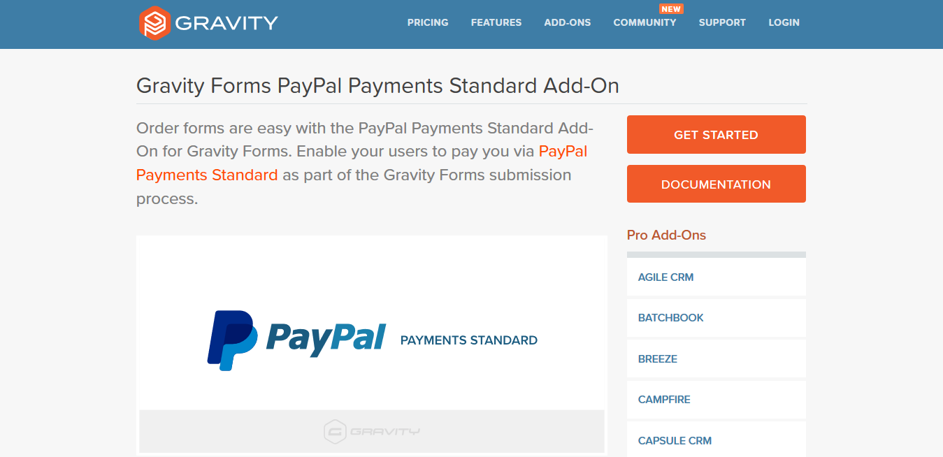Download GPL Gravity Forms Paypal Payments Standard Addon 3.3 with Free Updates   GPLCrafter
