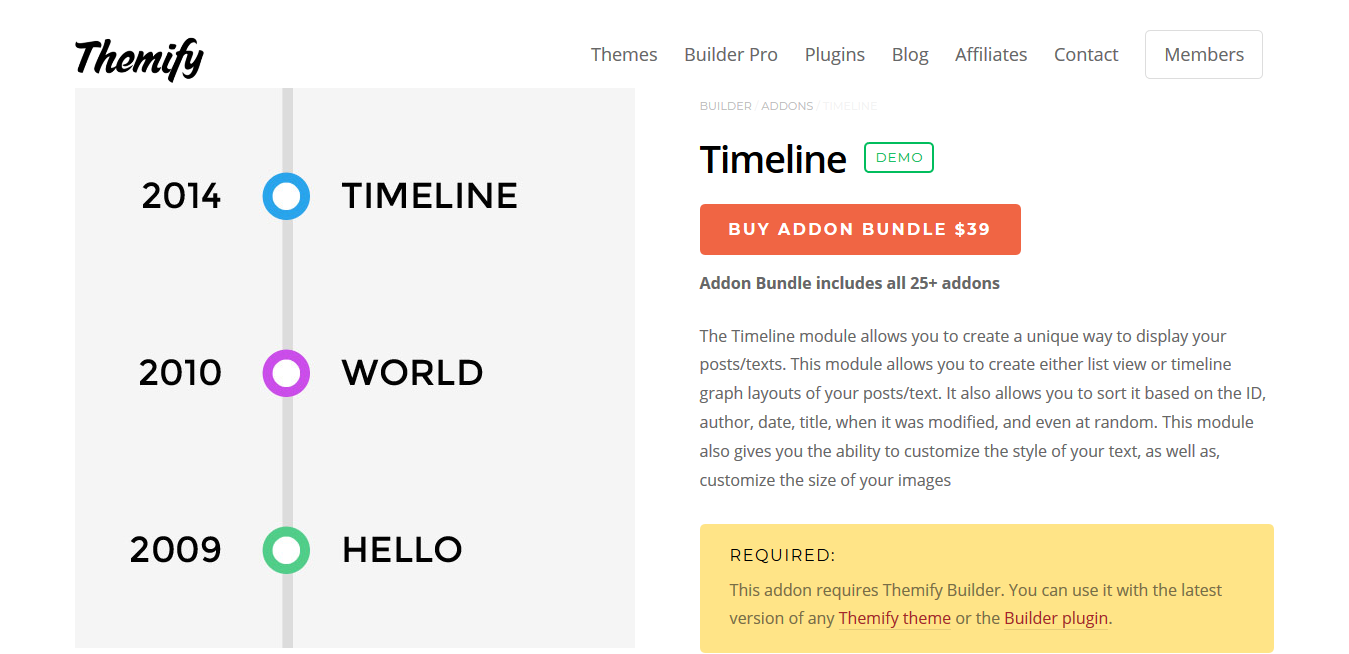 Themify Builder Timeline 2.0.0