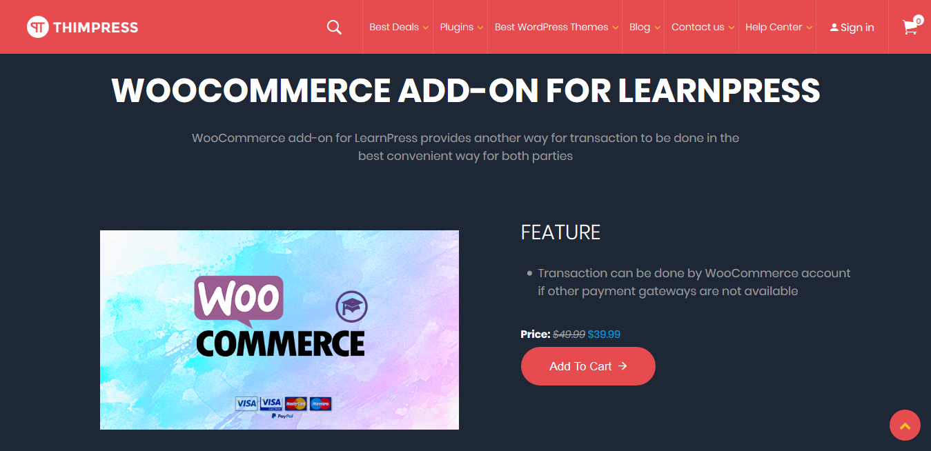 LearnPress – WooCommerce Payment Methods Integration 3.2.7