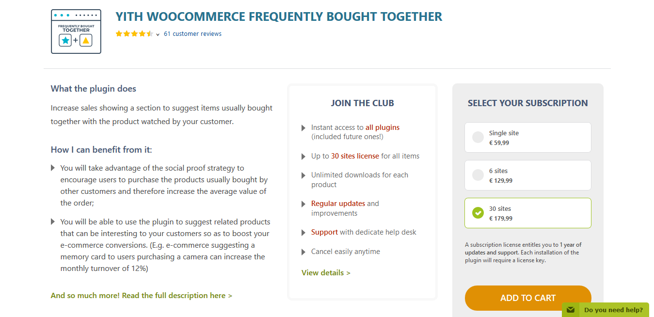 YITH WooCommerce Frequently Bought Together Premium 1.8.10