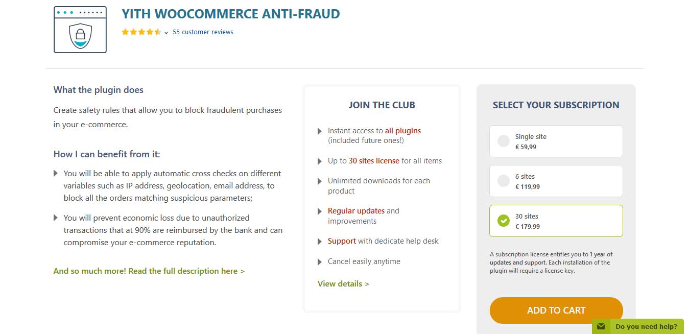 YITH WooCommerce Anti-Fraud Premium 1.4.2