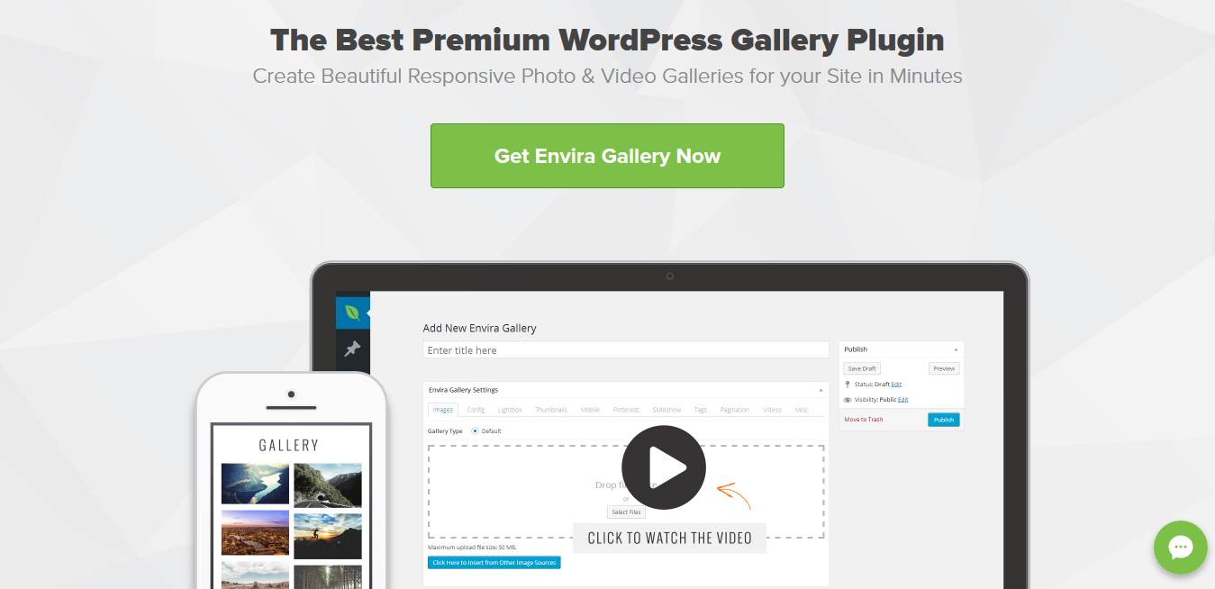 Envira Gallery 1.8.9.9 with all 28 Addons – Best Responsive Gallery Plugin