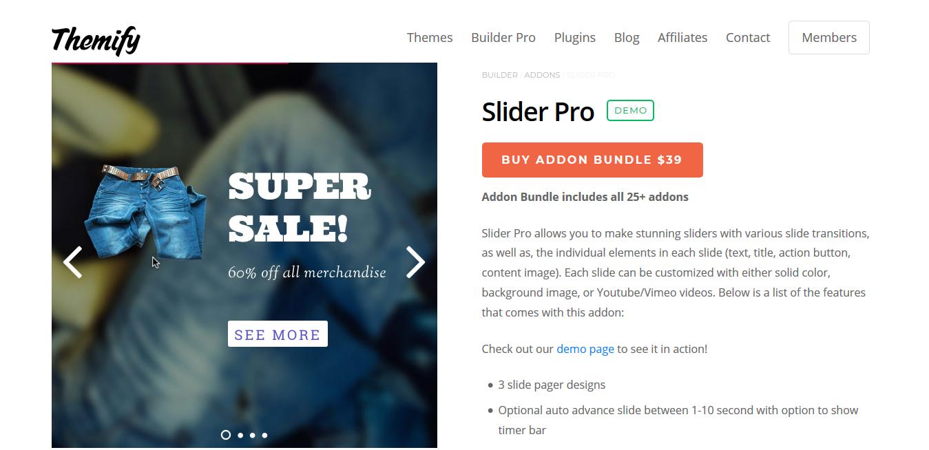 Themify Builder Slider Pro 2.0.6