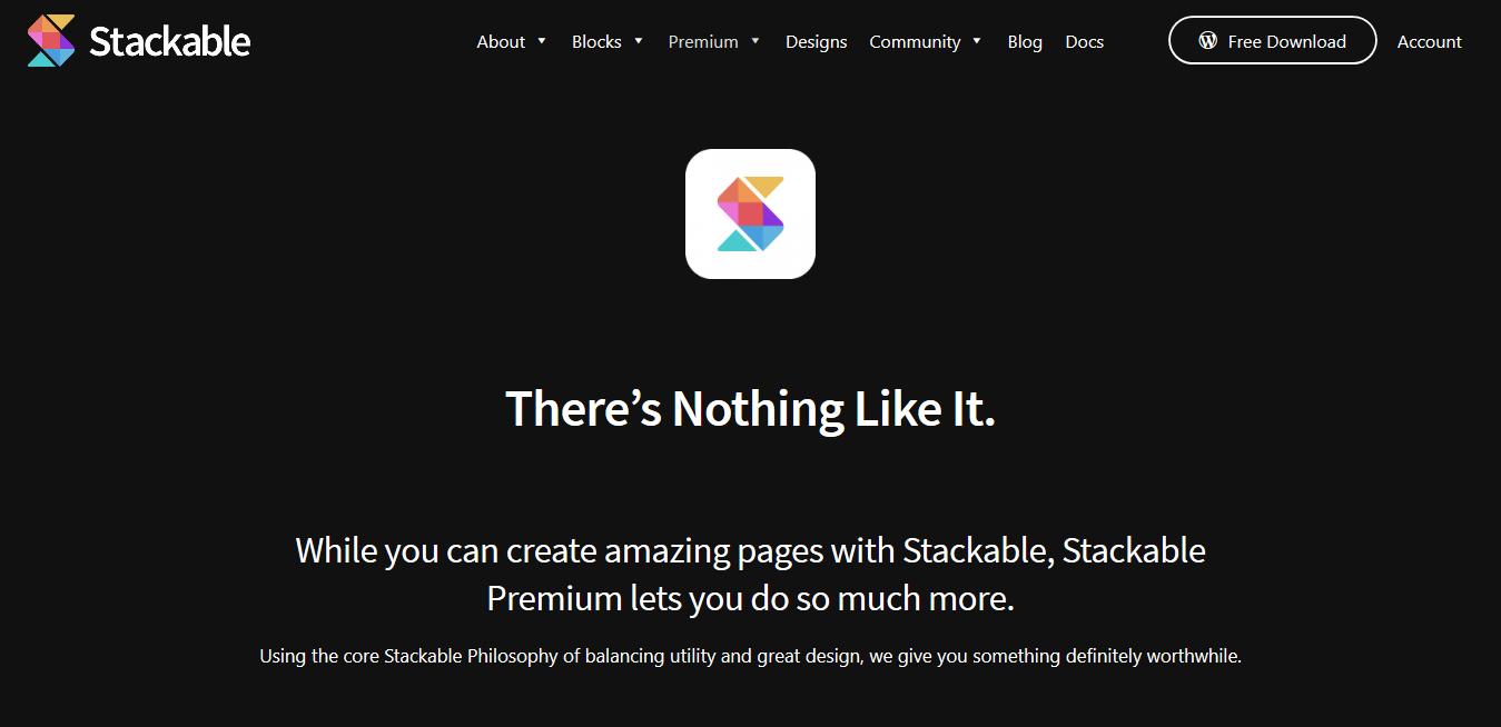Stackable Premium 3.0.3 – Ultimate Gutenberg